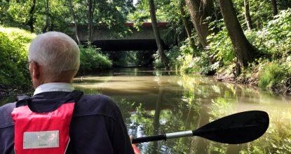 Spływy Kajakowe Dłubnią w Nowej Hucie