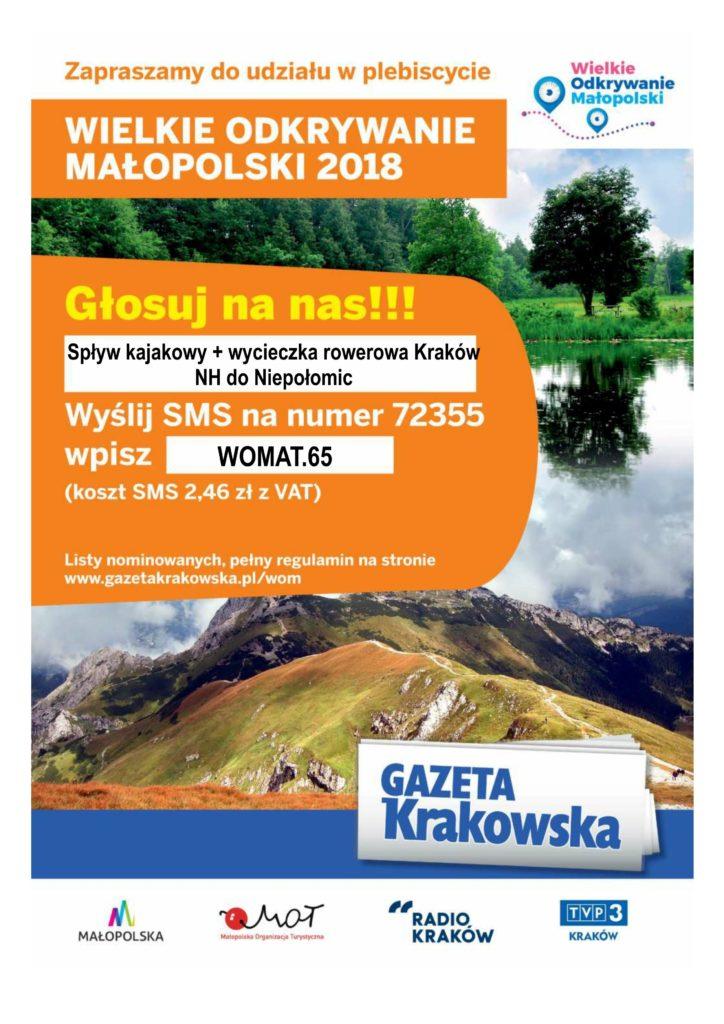 Wielkie Odkrywanie Małopolski plakat