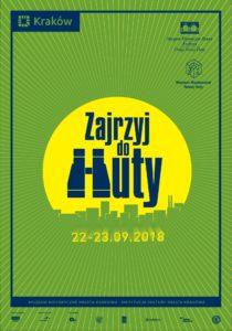 Zajrzyj do Huty 2018 plakat