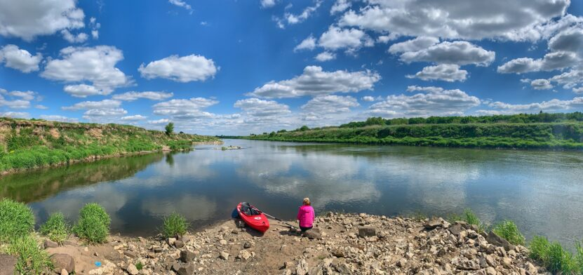 Spływ Kajakowy Wisłą Przewóz Niepołomice