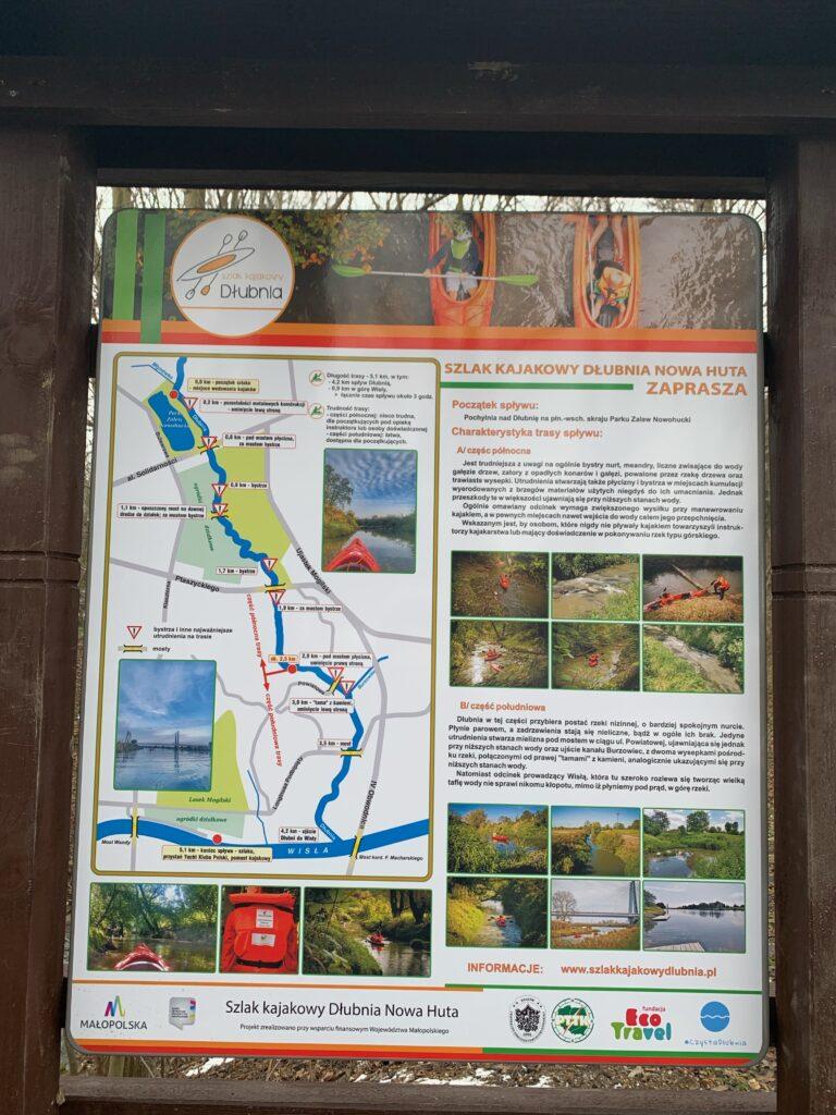 Szlak Kajakowy Dłubnia - Nowa Huta